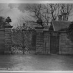 Castlewellan Castle entrance postcard