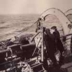 two women on deck – Operation Torch