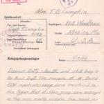 11/18/1943 POW Letter