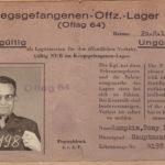 Tony Lumpkin's POW ID
