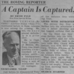 "Ernie Pyle – ""A Captain Is Captured"""