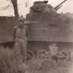 MMA tank and unknown soldier