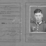 ID papers of captured German soldier