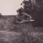 soldier reading map