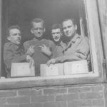 Oflag 64 Lt.Ihrie, Capt. Lumpkin, Haines, 1st Lt. Carter